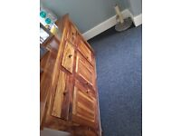 Mango Wood Solid Sideboard