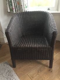 John Lewis Wicker Arm Chair