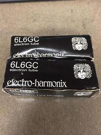 Electro Harmonix 6L6GC (Two Tubes)