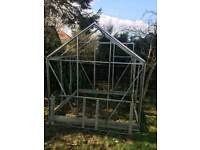 Glass 6ft green house