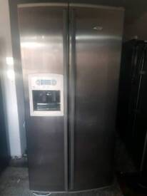 Fridge freezer fully working offer 10months guarantee and free delivery