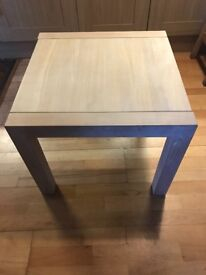 Solid Oak Coffee / Side Table with pale wash Finish 60cm x 60cm