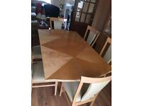 Dinning table, sideboard, cabinet , sofa