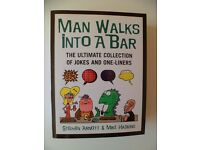 "Selection of adult joke and ""funny stories"" books (very good condition)"