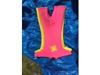 ***GIRL SIZE 2 (AGE 6+) WET SUIT***