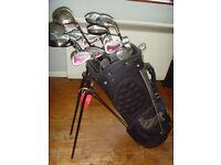Ram golf clubs and bag