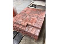 Monoblock paving brindle