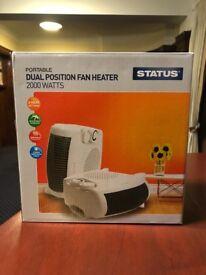Fan Heater 2000 Watts Brand New