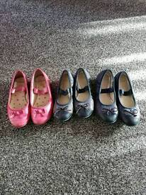 3 x Clarks Shoes (10g, 10f and 11f)