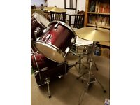 Performance percussion 5 piece drum kit