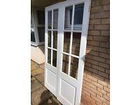 """Internal French Doors, Glazed, 4ft x 6ft 6"""""""
