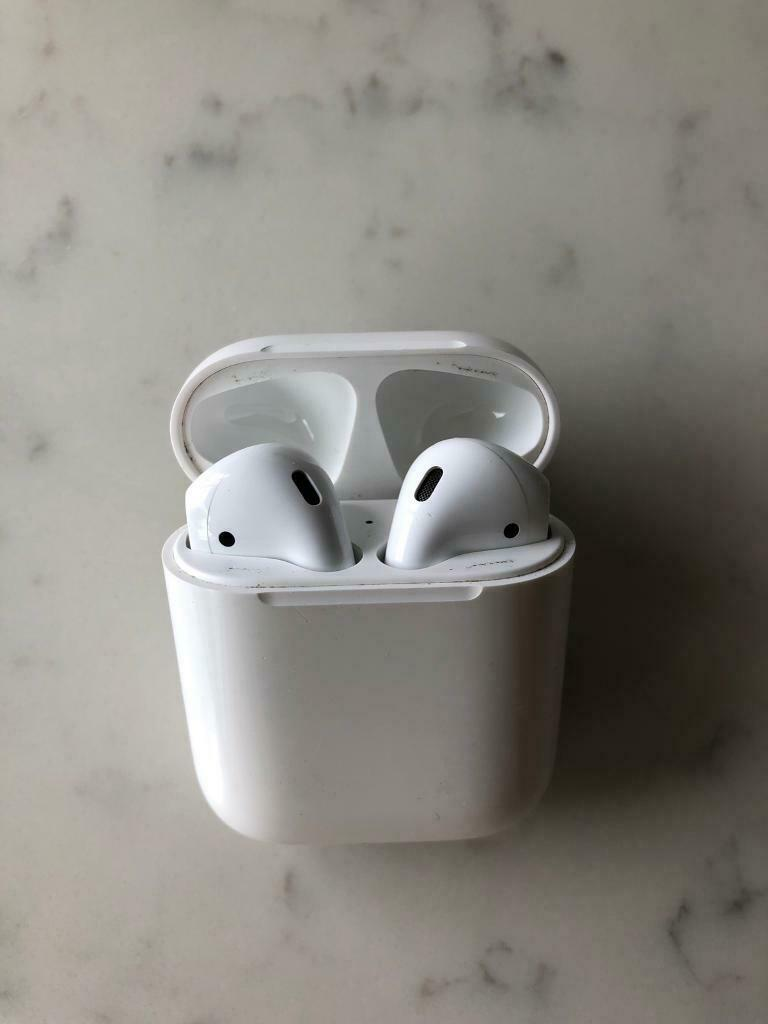 hot sale online e080b 72fc3 Apple AirPods with charging case | in Edinburgh | Gumtree