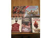 CHICKEN KEEPING JOB LOT BOOKS