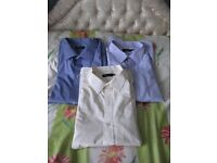 Three 21 Inch Short Sleeved Brand New Cotton Shirts for £20.00