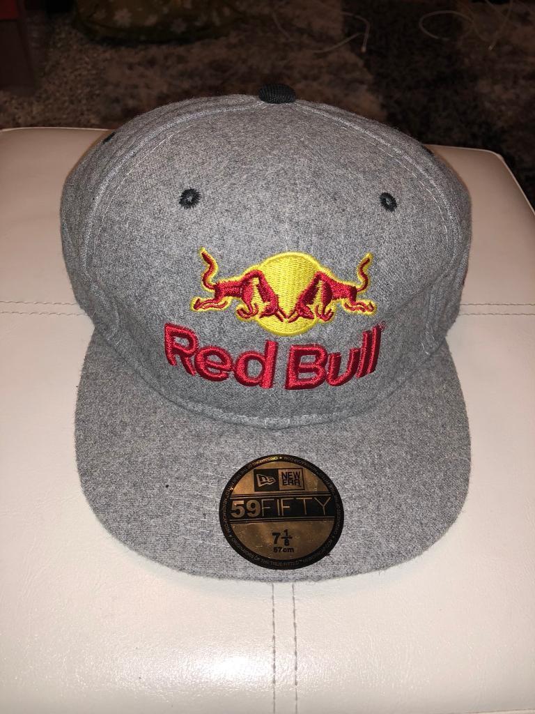 Red Bull Hat Men New Era 59 50