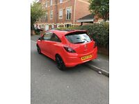 VAUXHALL CORSA LIMITED EDITION 3 door 1.2 Red, Black Roof, Manual, Petrol, Alloys, Air Con