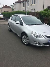 vauxhall astra (10)plate 1.4cc