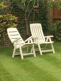 Patio/Garden chairs