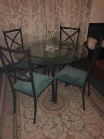 Perfect condition Italian Glass table