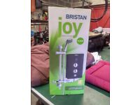 Britan Joy Electric shower and shower screen