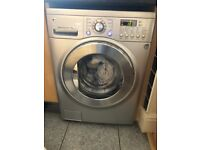 LG 8Kg Washer / 4Kg Dryer WD-12316RDK Silver