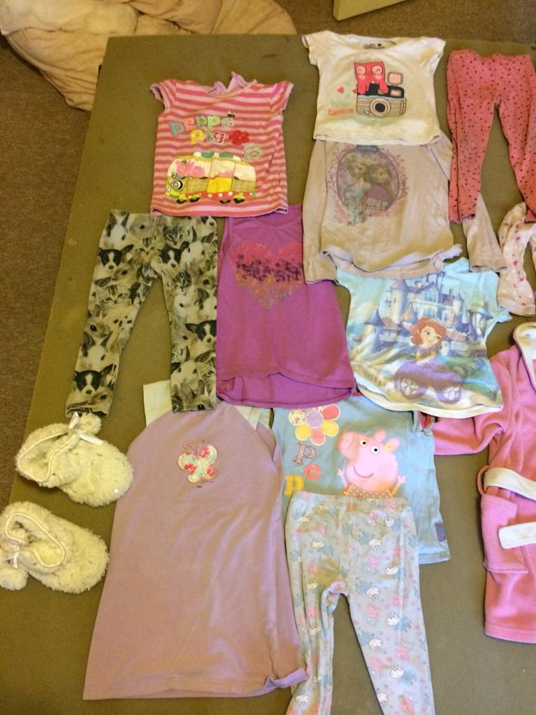 25 items selling as one lot, age 2-5 y.o