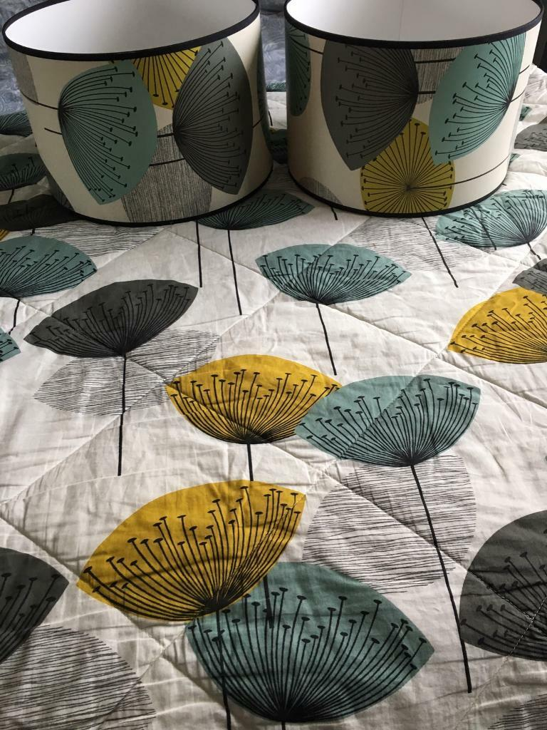 Sanderson Bedding Dandelion Clocks King Size