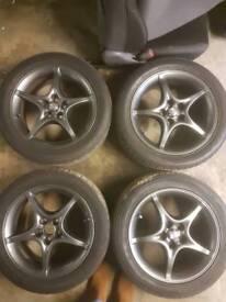 Celica wheels and interior