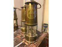 Eccles miner lamps