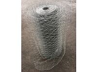 Roll of wire mesh approx 30m by 60cm