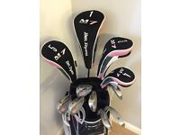 Ladies set of Ben Sayers golf clubs - only used twice and in excellent condition