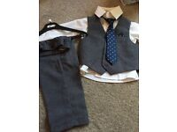 Two Baby boy suit set size 0-3 & 6-12