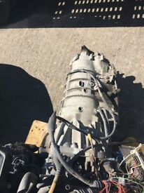 BMW E46 330D DIESEL ENGINE M57 M57D complete engine with automatic gearbox