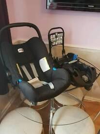Britax car seat and Base