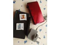 Nintendo 3ds, 2 games, stand & charger