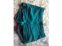 Little green shorts size 10/12