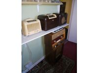 WANTED OLD VALVE RADIOS ANY CONDITION