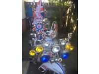 Piaggio Vespa 125cc Award Winning Scooter FOR SALE