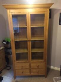 Large Oak cabinet from M&S home range