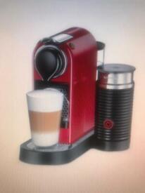 """Nespresso """"Citiz & Milk Red"""" Coffee Maker"""