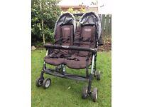 Graco Double Buggy | Pram Pushchair Stroller