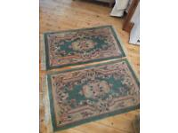 2 x rugs