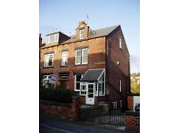 Two large rooms available in friendly professional house share in Wortley. Rent Includes All Bills!