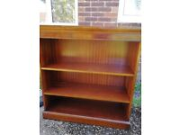 Wooden Bookcase - heavy quality