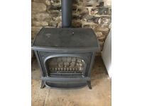Gas stove Wood burner style