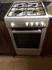 Gas cooker. Rarely used