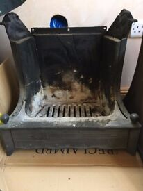 Aga Rembrandt wood-burning (multi-fuel) stove / fireplace with fire guard