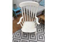 Shabby Chic Rustic Arm Chair
