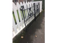 Extremely Well Built, Solid Steel Driveway Gates / Can Deliver call me for info