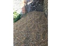 4 tons of gravel